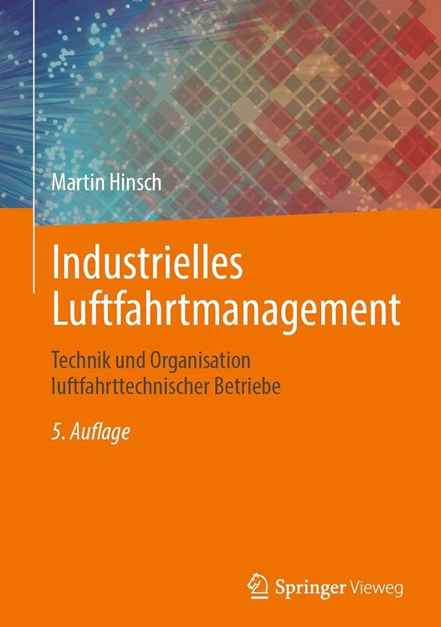 Buch Industrielles Luftfahrtmanagement - Prof. Dr. Martin Hinsch
