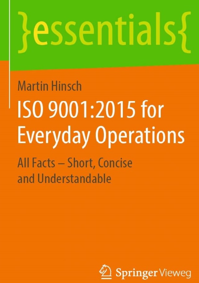 ISO 9001:2015 for everyday operation - Prof. Dr. Martin Hinsch