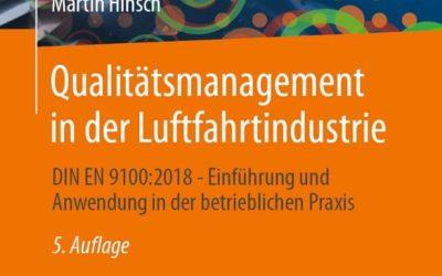 Qualitätsmangement in der Luftfahrtindustrie: EN 9100 Fachbuch – 5. Aufl.
