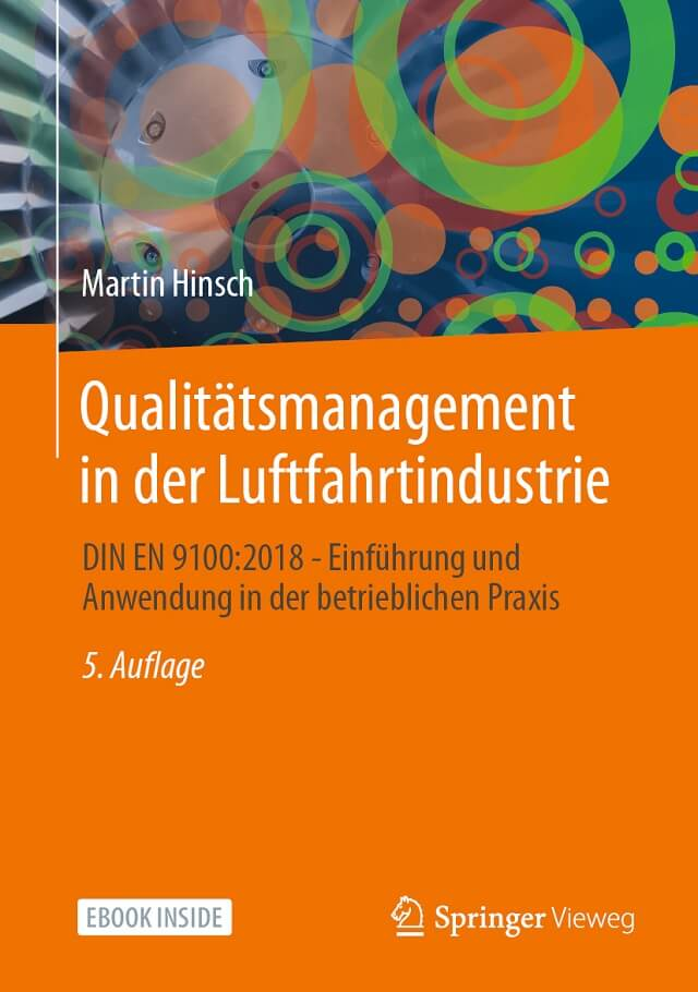 DIN EN 9100:2018 - Qualitätsmanagement in der Luftfahrtindustrie - Prof. Dr. Martin Hinsch