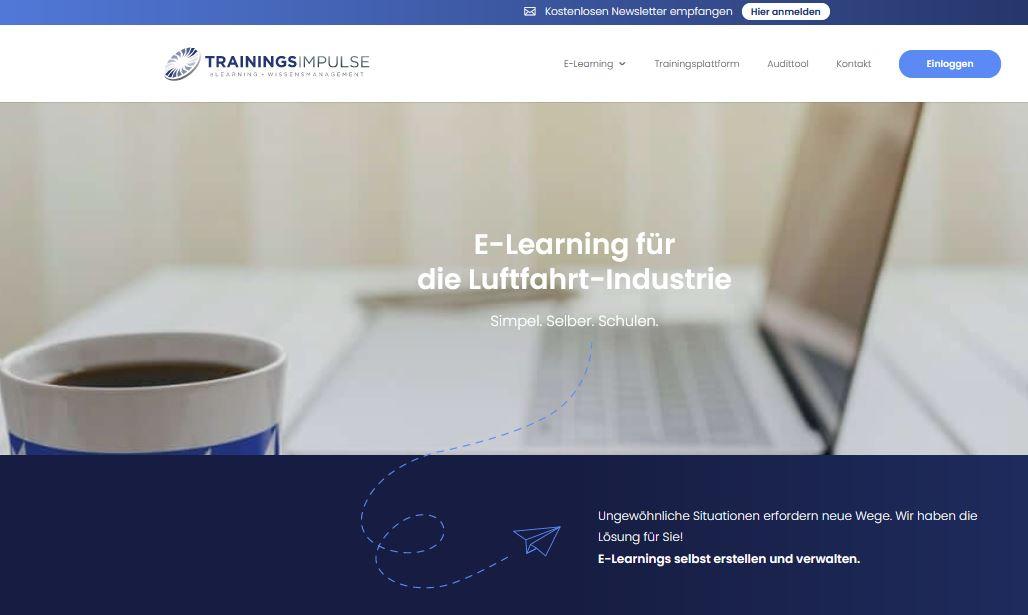 TrainingsImpulse - E-Learning + Online Trainings - Luftrecht, EASA Part 21, Part 145, Part CAMO, EN 9100 und Human Factors